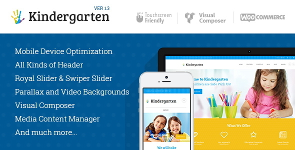 Kindergarten | Children WordPress Theme - Education WordPress