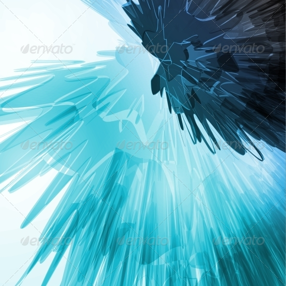 GraphicRiver Abstract Blue Background 8636806