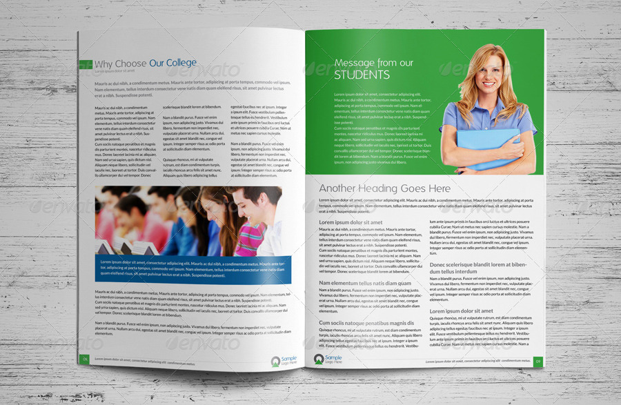 College University Prospectus Magazine by JbnComilla – University Brochure Template