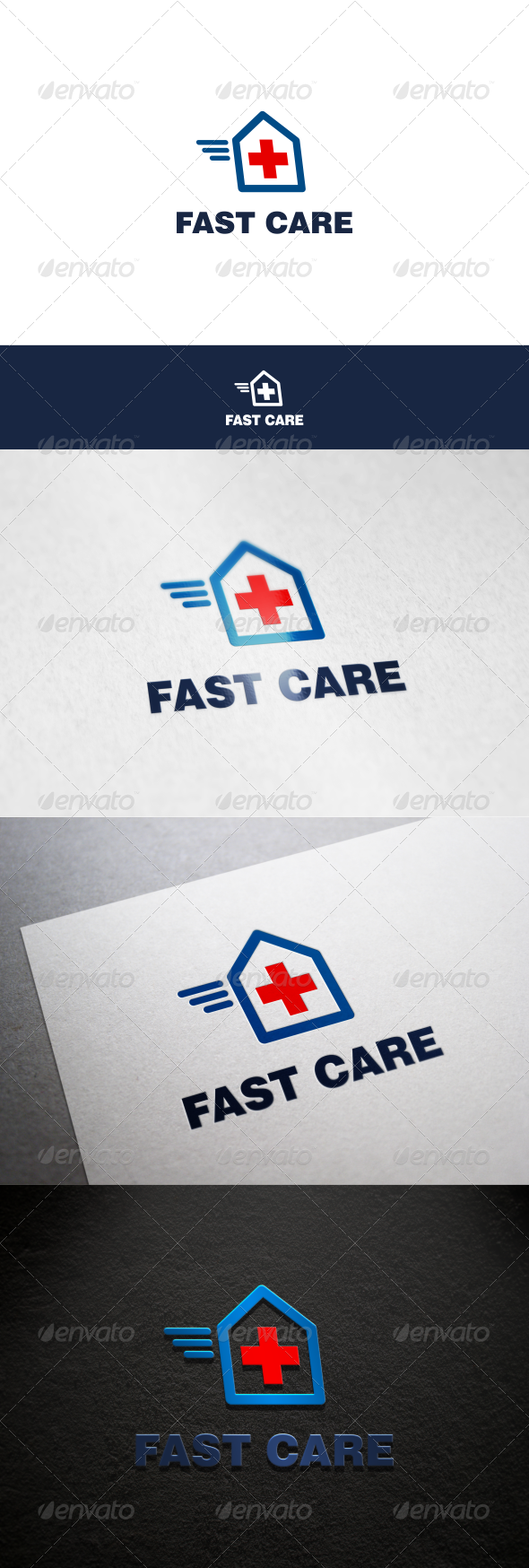 GraphicRiver Fast Care Logo 8636930