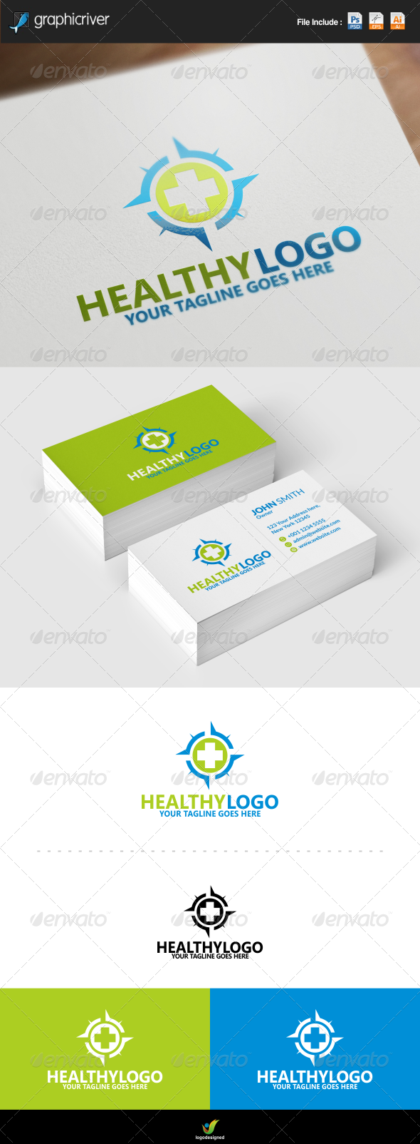 GraphicRiver Medical Logo 8637101