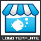 Fish Store - Logo Template - GraphicRiver Item for Sale