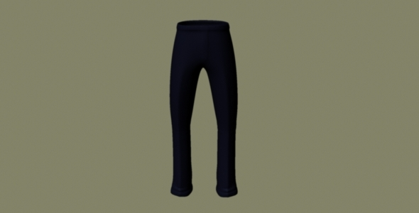 Trousers - 3DOcean Item for Sale