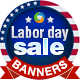 Labor Day Banners - GraphicRiver Item for Sale