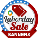 Labor Day Marketing Banners - GraphicRiver Item for Sale