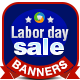 Labor Day Special Banners - GraphicRiver Item for Sale