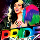 Pride Party Print Template - GraphicRiver Item for Sale