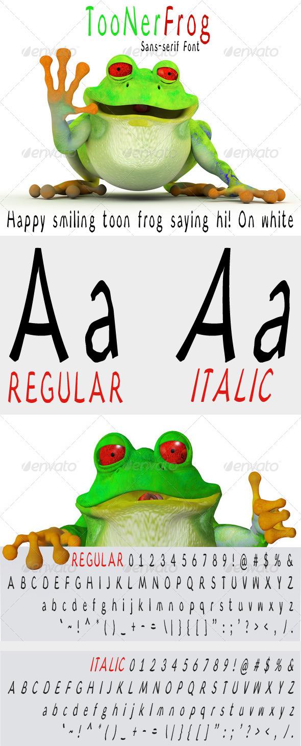 GraphicRiver Toonerfrog 8638782