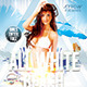 All White Beach Flyer Template - GraphicRiver Item for Sale