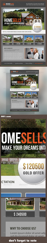 GraphicRiver Real Estate Corporate Flyer 16 8638793
