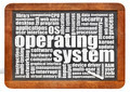 operating system word cloud - PhotoDune Item for Sale
