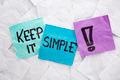keep it simple - PhotoDune Item for Sale