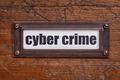 cyber crime - file cabinet label - PhotoDune Item for Sale
