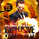 Explosive Night Party Flyer Template - GraphicRiver Item for Sale