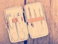 Nail Scissors Kit Vintage - PhotoDune Item for Sale