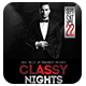 Classy Nights | Flyer + FB Cover - GraphicRiver Item for Sale