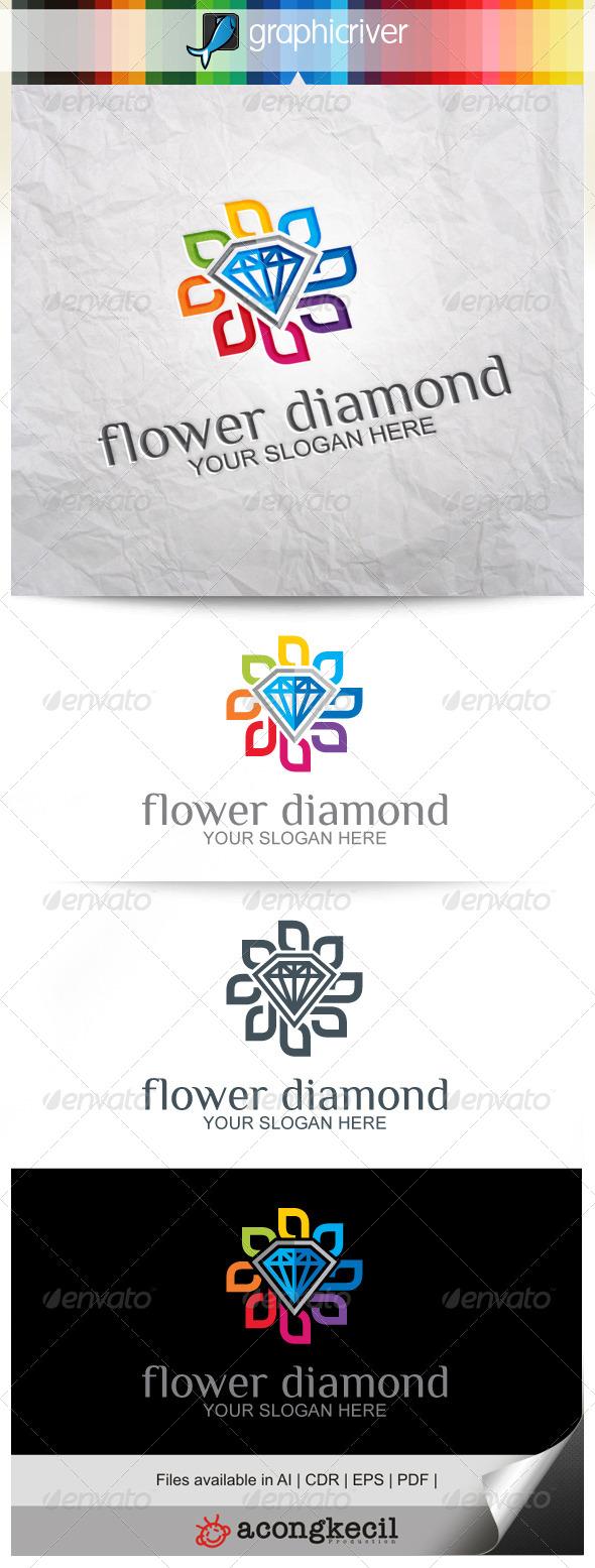 GraphicRiver Flower Diamond V.2 8639205