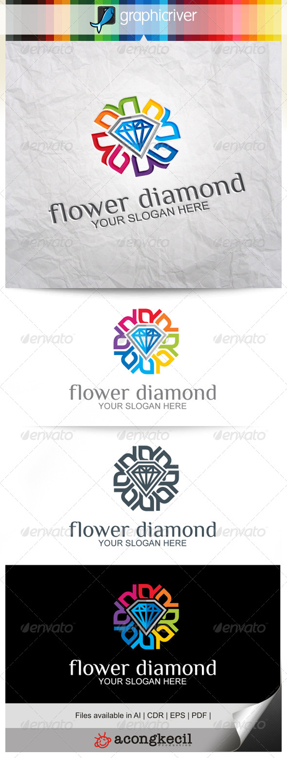 GraphicRiver Flower Diamond V.3 8639240
