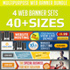 Web Banner Ad Design Set Bundle - GraphicRiver Item for Sale