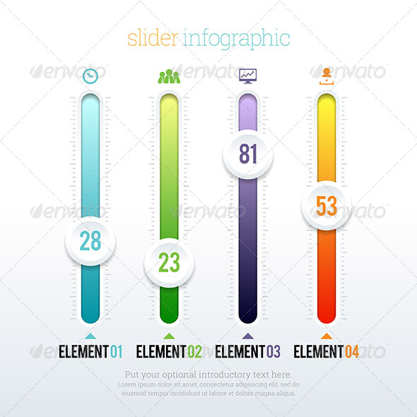 GraphicRiver Slider Infographic 8639399