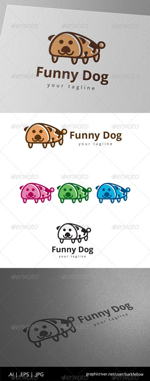 GraphicRiver Funny Pet Dog Logo 8639430