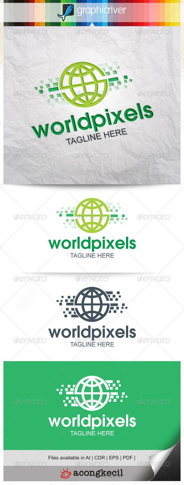 GraphicRiver World Pixels V.3 8639539