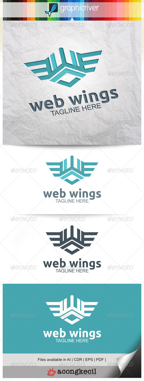 GraphicRiver Web Wings 8639549