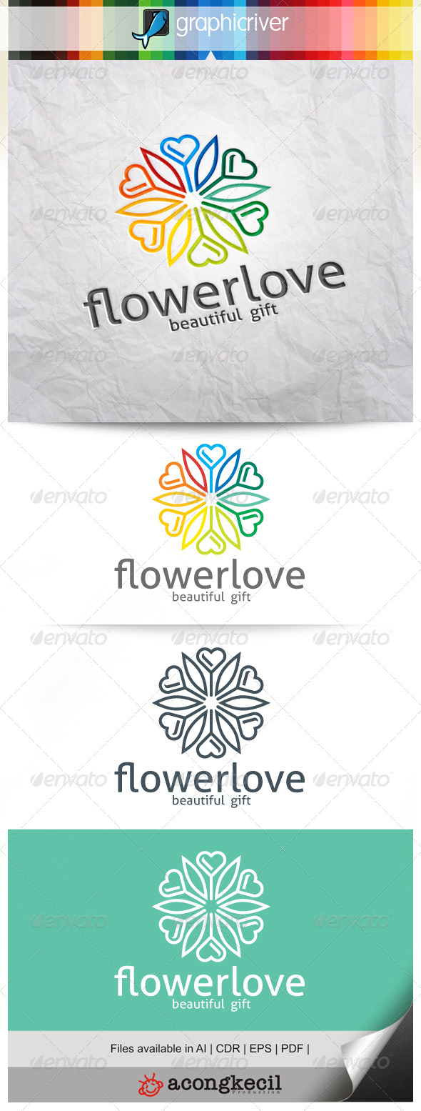 GraphicRiver Flower Love V.5 8639574
