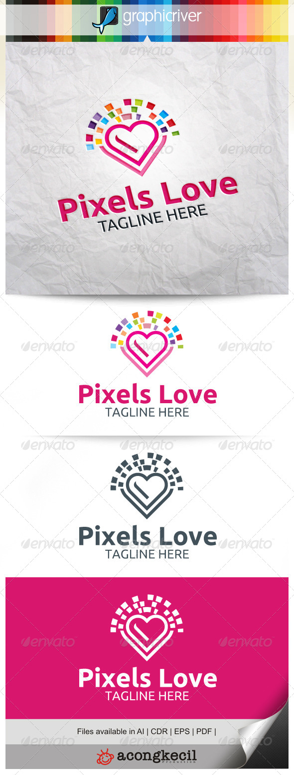 GraphicRiver Pixels Love V.2 8639585