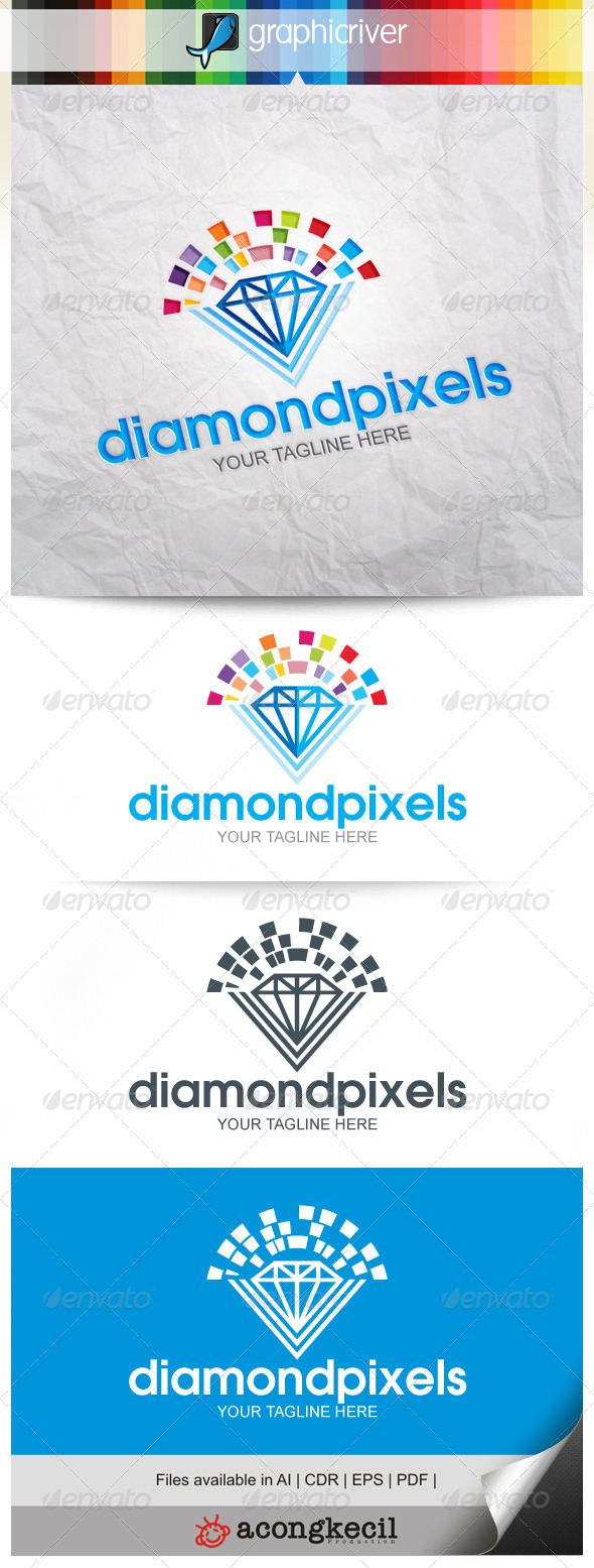 GraphicRiver Diamond Pixels 8639592
