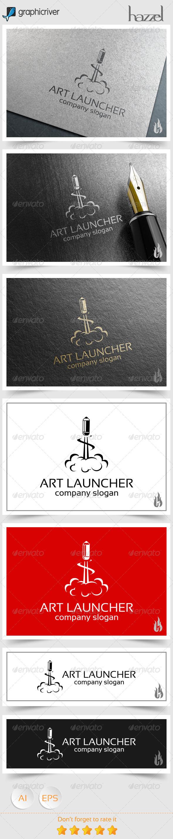 GraphicRiver Art Launcher Logo 8639661