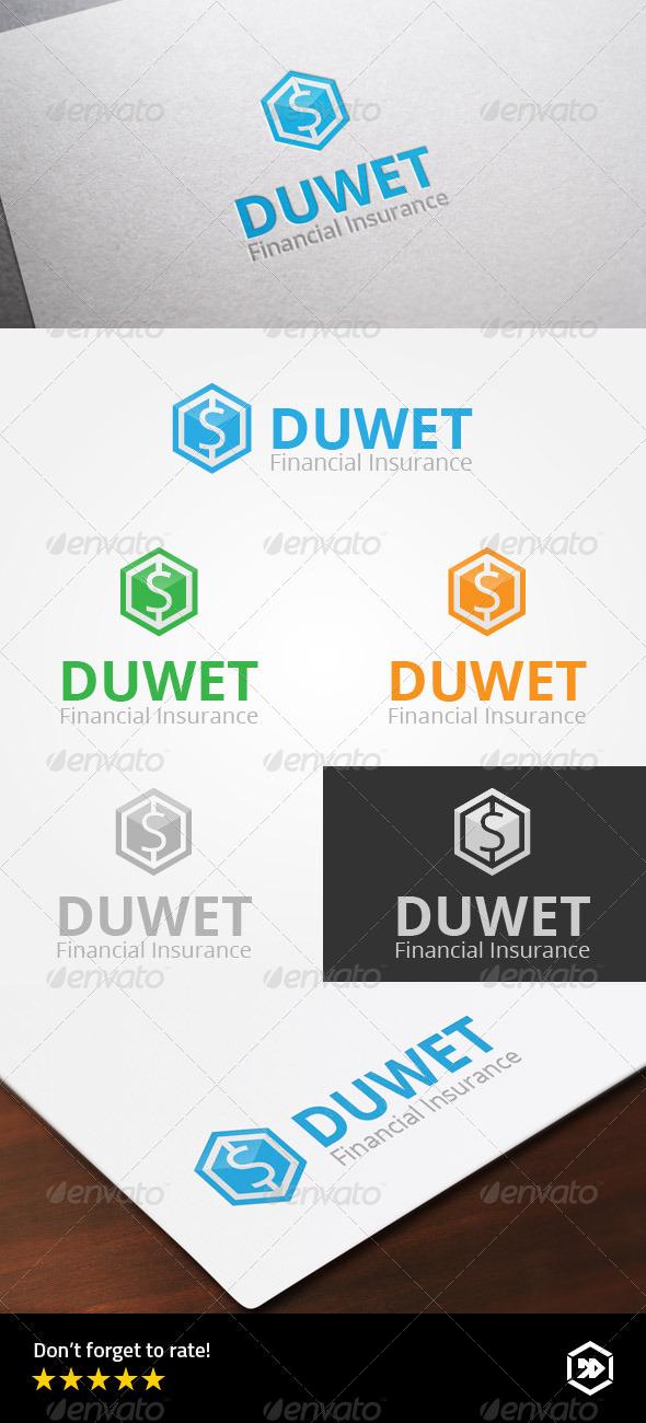 GraphicRiver Financial Insurance Hexagonal Dollar 8639787