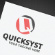Quicksyst Logo - GraphicRiver Item for Sale