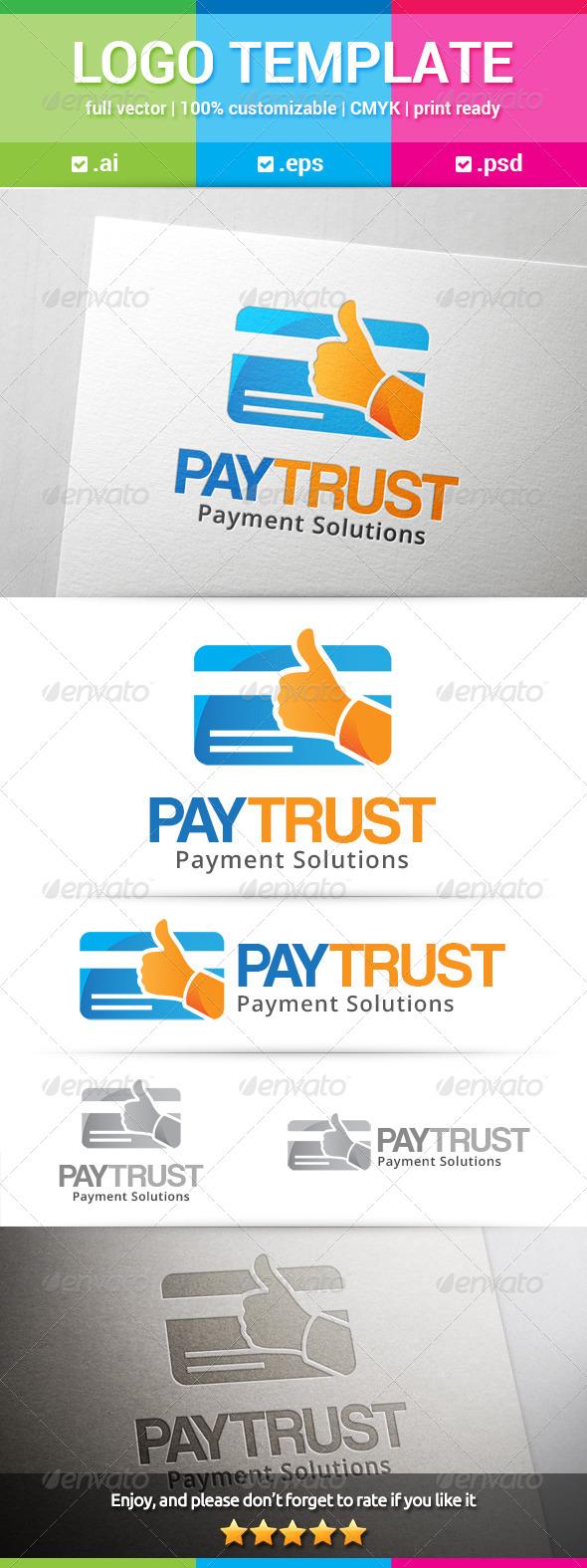 GraphicRiver Pay Trust Logo 8639810