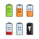 Battery Indicator Icons - GraphicRiver Item for Sale