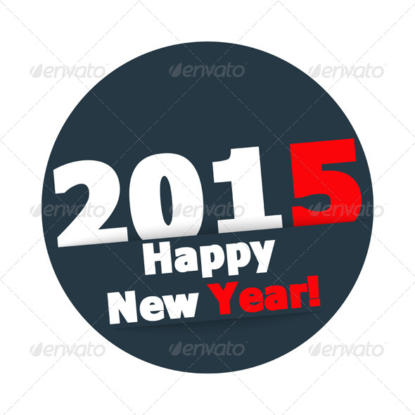 GraphicRiver Happy New Year 2015 8639821