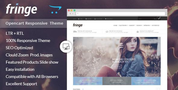 ThemeForest Fringe Opencart Responsive Theme 8639824