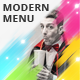 Modern Trifold Menu - GraphicRiver Item for Sale