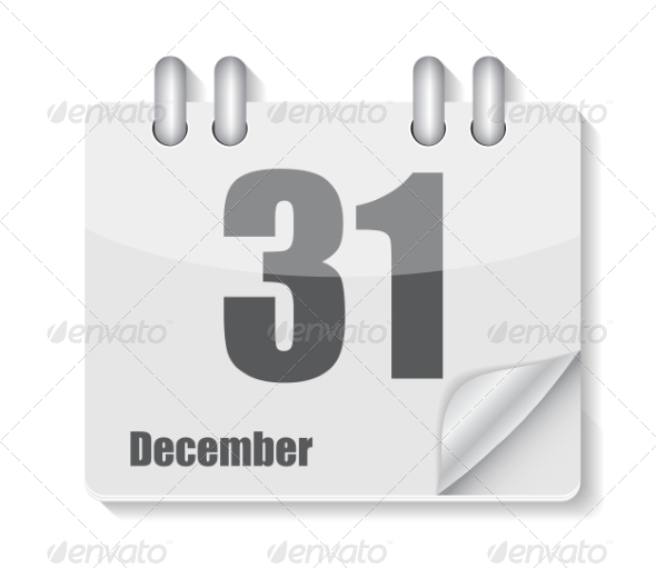 GraphicRiver Flat Calendar Icon for Applications Vector Illustration 8639889