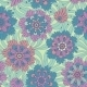 Decorative Flowers Seamless Floral Pattern - GraphicRiver Item for Sale