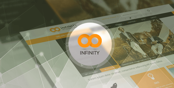 INFINITY is a multipurpose responsive WordPress theme packed with a wealth of retina-ready icons and various header options. you can discover many new awesome