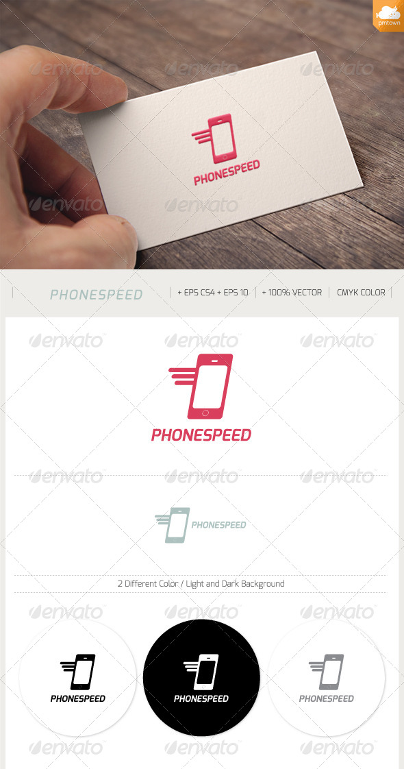 GraphicRiver Phone Speed 8640260