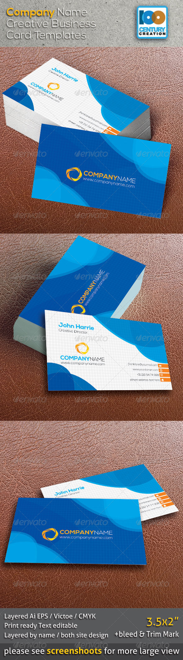 GraphicRiver Creative Business Card 8640352