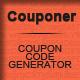 """Couponer"" - coupon code generator"