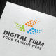 Digital Firm Logo Template - GraphicRiver Item for Sale