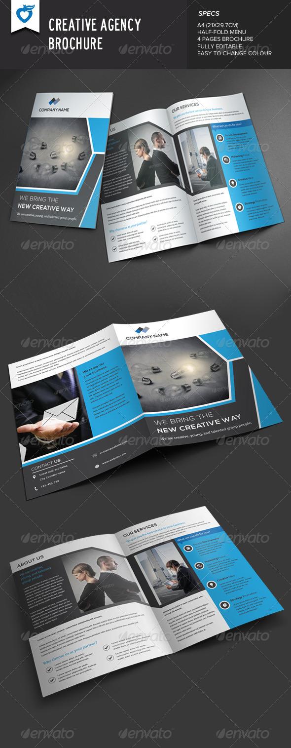 GraphicRiver Creative Agency Brochure 8636610
