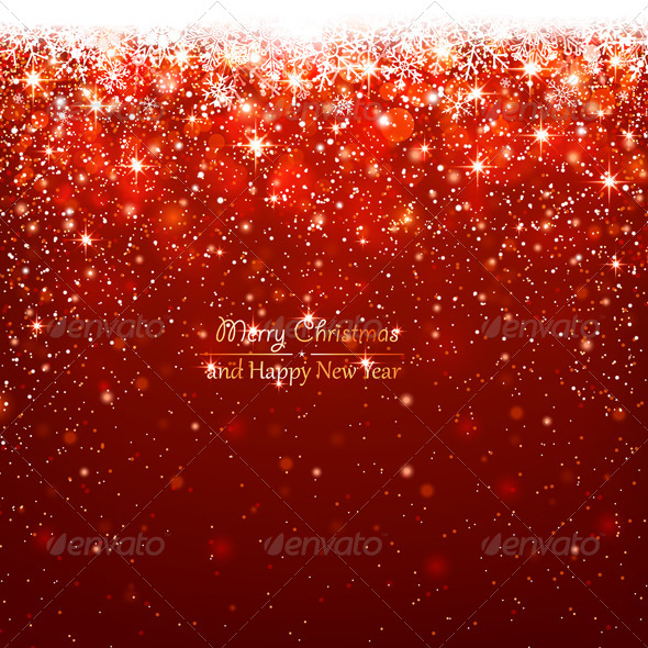 GraphicRiver Christmas Red Background 8640532