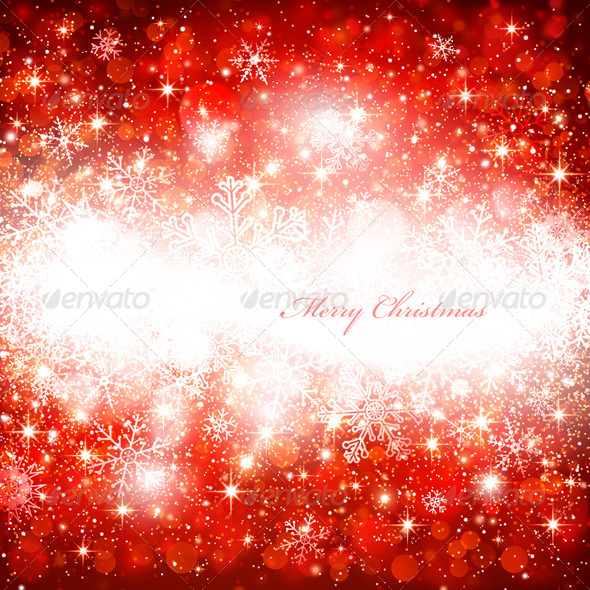 GraphicRiver Christmas Background 8640534