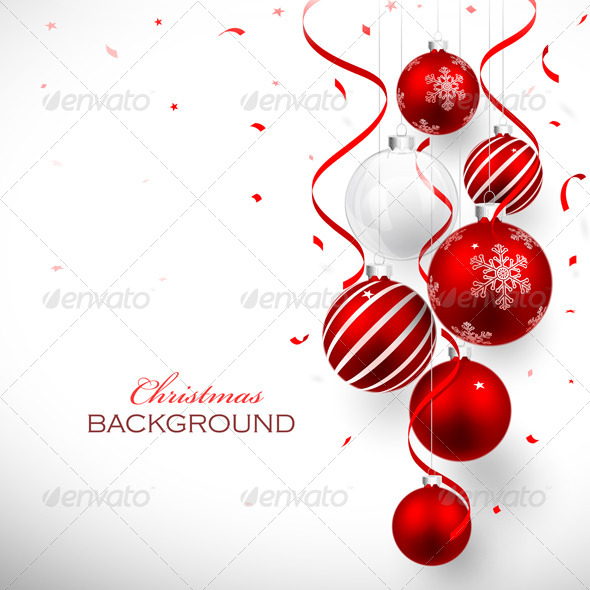 GraphicRiver Christmas Balls 8640572