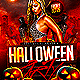 Halloween Party Flyer Template PSD - GraphicRiver Item for Sale